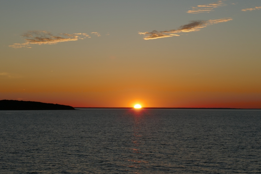 Sunset from the Montauket in Montauk